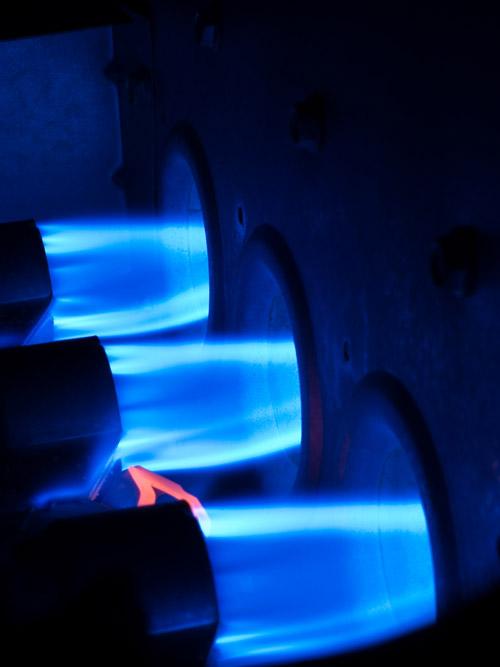 Gas Furnace Blast