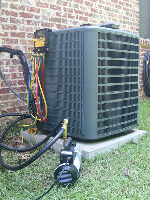Air Conditioner Maintenance Check