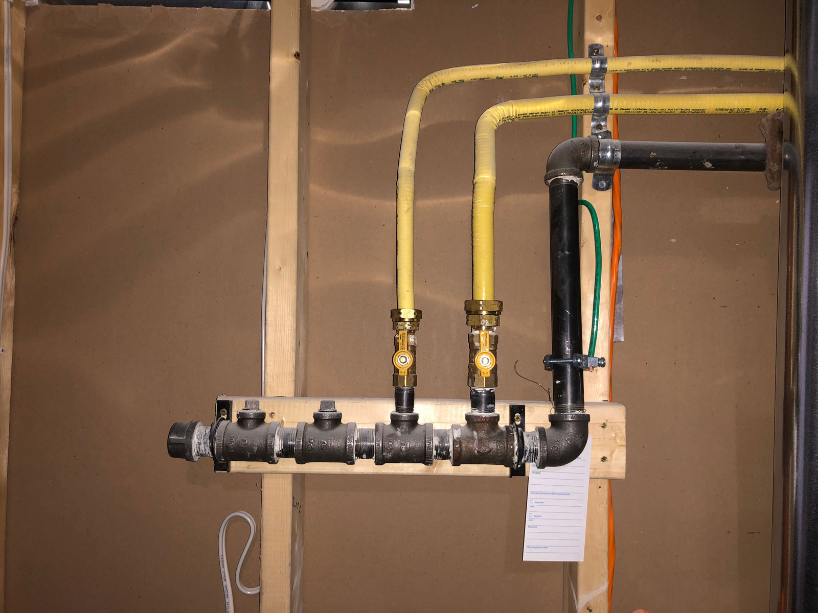 Residential Gas Line Installation