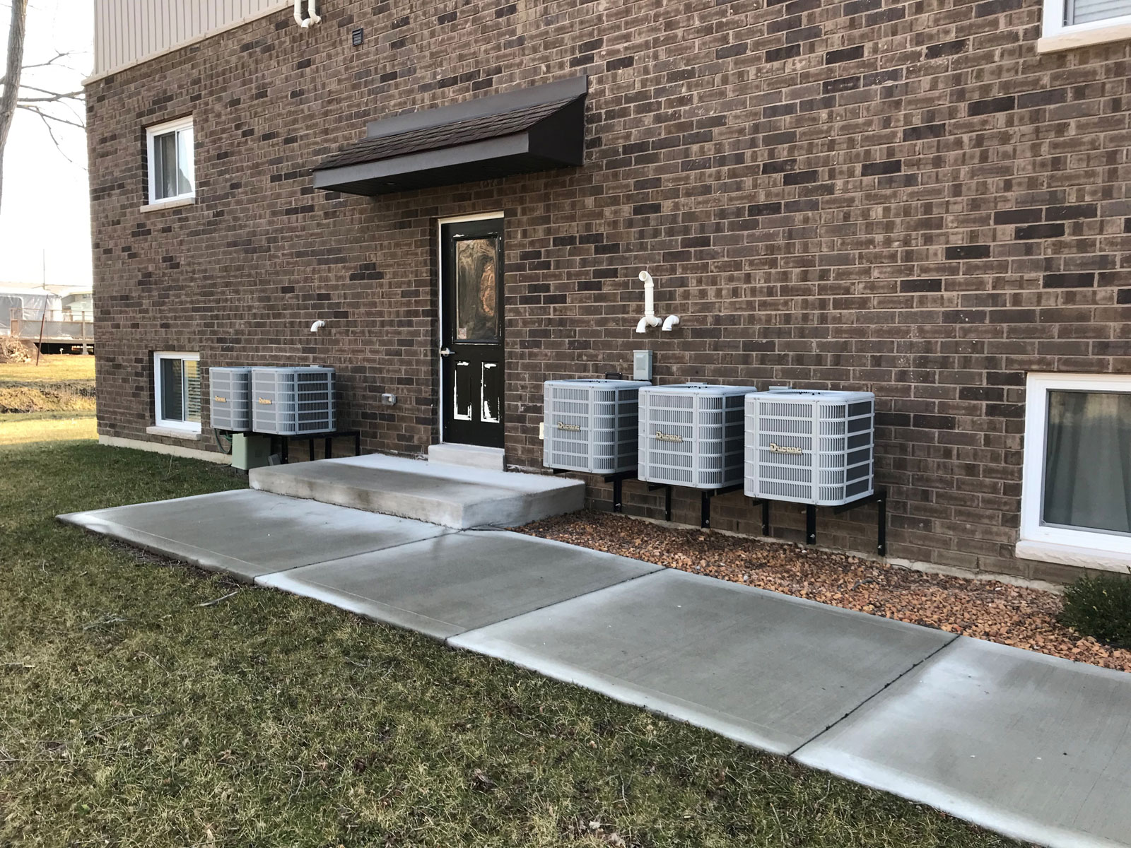 Multi-Residential Air Conditioning Installation